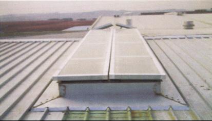 电动一字型排烟天窗