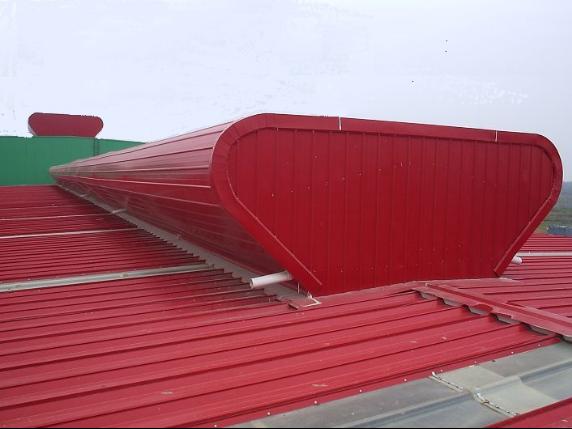 开敞式屋脊自然通风器